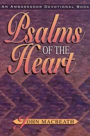 Cover of: Psalms of the Heart