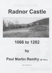 Cover of: Radnor Castle, 1066 to 1282: a short guide