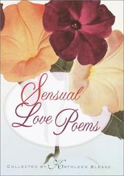 Cover of: Sensual Love Poems |