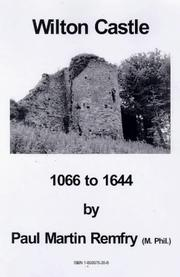 Wilton Castle, 1066 to 1644 by Paul Martin Remfry