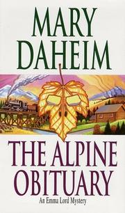 Cover of: The Alpine Obituary (An Emma Lord Mystery)