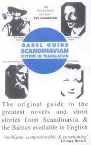 Cover of: Babel guide to Scandinavian and Baltic fiction | Paul Binding