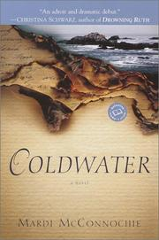 Cover of: Coldwater | Mardi Mcconnochie