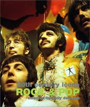 Cover of: 20th Century Icons-Rock & Pop