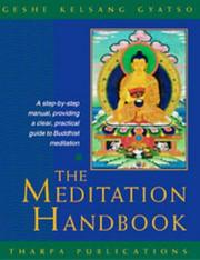 Cover of: The Meditation Handbook