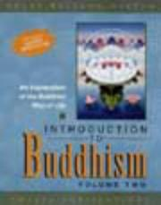 Cover of: Introduction to Buddhism (Talking Dharma Books)