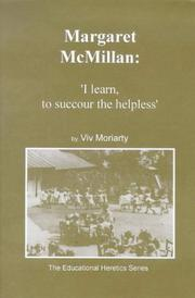 Cover of: Margaret McMillan