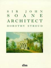Cover of: Sir John Sloane, Architect