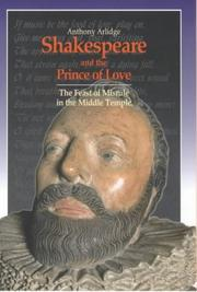 Cover of: Shakespeare and the Prince of Love | Anthony Arlidge