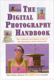 Cover of: The Digital Photography Handbook | Simon Joinson