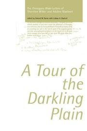 Cover of: tour of the Darkling Plain | Thornton Wilder
