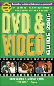 Cover of: DVD & video guide 2006