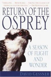 Cover of: Return of the Osprey