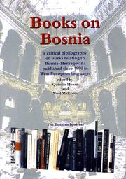 Cover of: Books on Bosnia