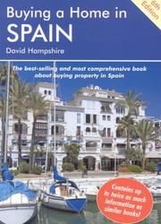 Cover of: Buying a Home in Spain | David Hampshire