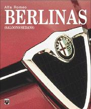 Cover of: Alfa Romeo Berlinas (Saloons/Sedans) (Car & Motorcycle Marque/Model)