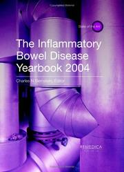 Cover of: The Inflammatory Bowel Disease Yearbook 2004 (State of the Art) (State of the Art) | Charles N. Bernstein