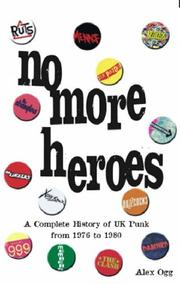 Cover of: No more heroes