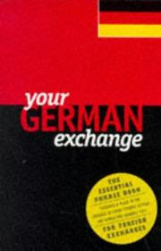 Cover of: Your German exchange