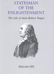 Cover of: Statesman of the Englightenment