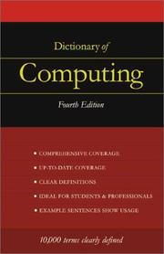 Cover of: Dictionary of Computing | S. M. H. Collin