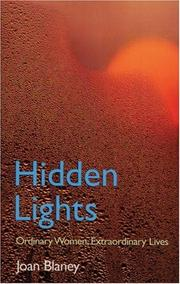 Cover of: Hidden Lights | Joan Blaney