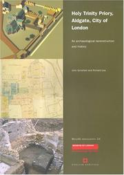 Cover of: Holy Trinity Priory, Aldgate, City of London | John Schofield, Richard Lea