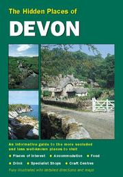 Cover of: The Hidden Places of Devon (The Hidden Places Series)