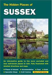 Cover of: HIDDEN PLACES OF SUSSEX (The Hidden Places)