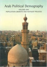 Cover of: Arab Politcal Demography | Onn Winckler