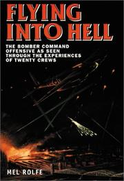 Cover of: FLYING INTO HELL | Mel Rolfe