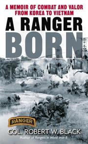 Cover of: A Ranger Born
