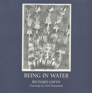 Cover of: Being in Water | Richard Gwyn