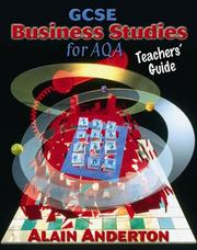 Cover of: GCSE Business Studies for AQA Teacher