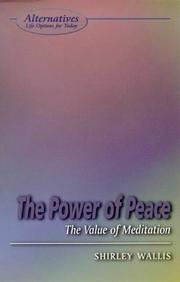 Cover of: The Power of Peace | Shirley Wallis