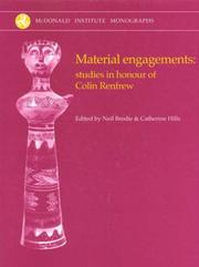 Cover of: Material Engagements |
