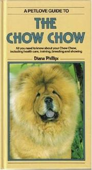 Cover of: The Chow Chow | Diana Phillips