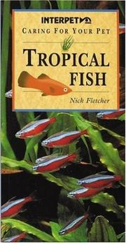 Cover of: Tropical Fish (Caring for Your Pet)