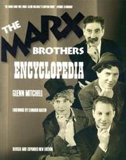 Cover of: The Marx Brothers Encyclopedia | Glenn Mitchell