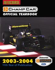 Cover of: Autocourse(tm) CHAMP CAR