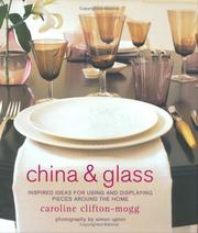 Cover of: China and Glass