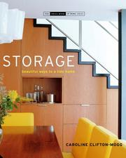 Cover of: Storage: Room by Room Solutions for the Home (The Small Books series)