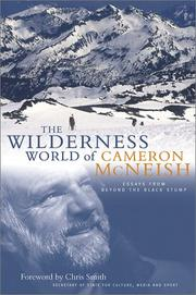 Cover of: wilderness world of Cameron McNeish | Cameron McNeish
