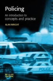 Cover of: Policing | Alan Wright