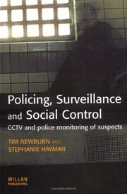 Cover of: Policing, surveillance and social control