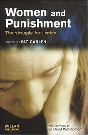 Cover of: Women and Punishment