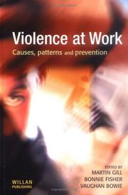 Cover of: Violence at work