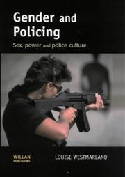 Cover of: Gender and policing