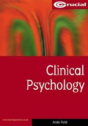 Cover of: Clinical psychology | Andy P. Field