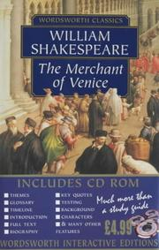 Cover of: The Merchant of Venice with CDROM | William Shakespeare